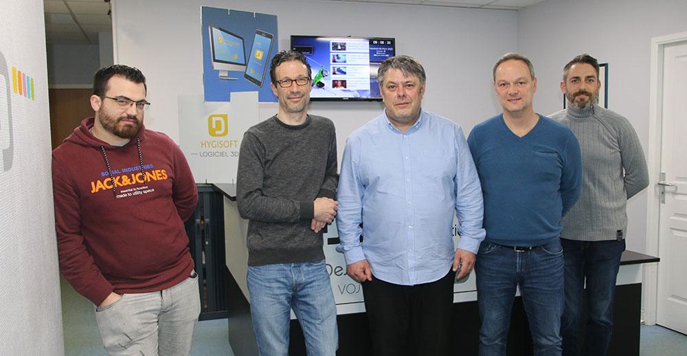 4 formateurs de plus pour Hygisoft