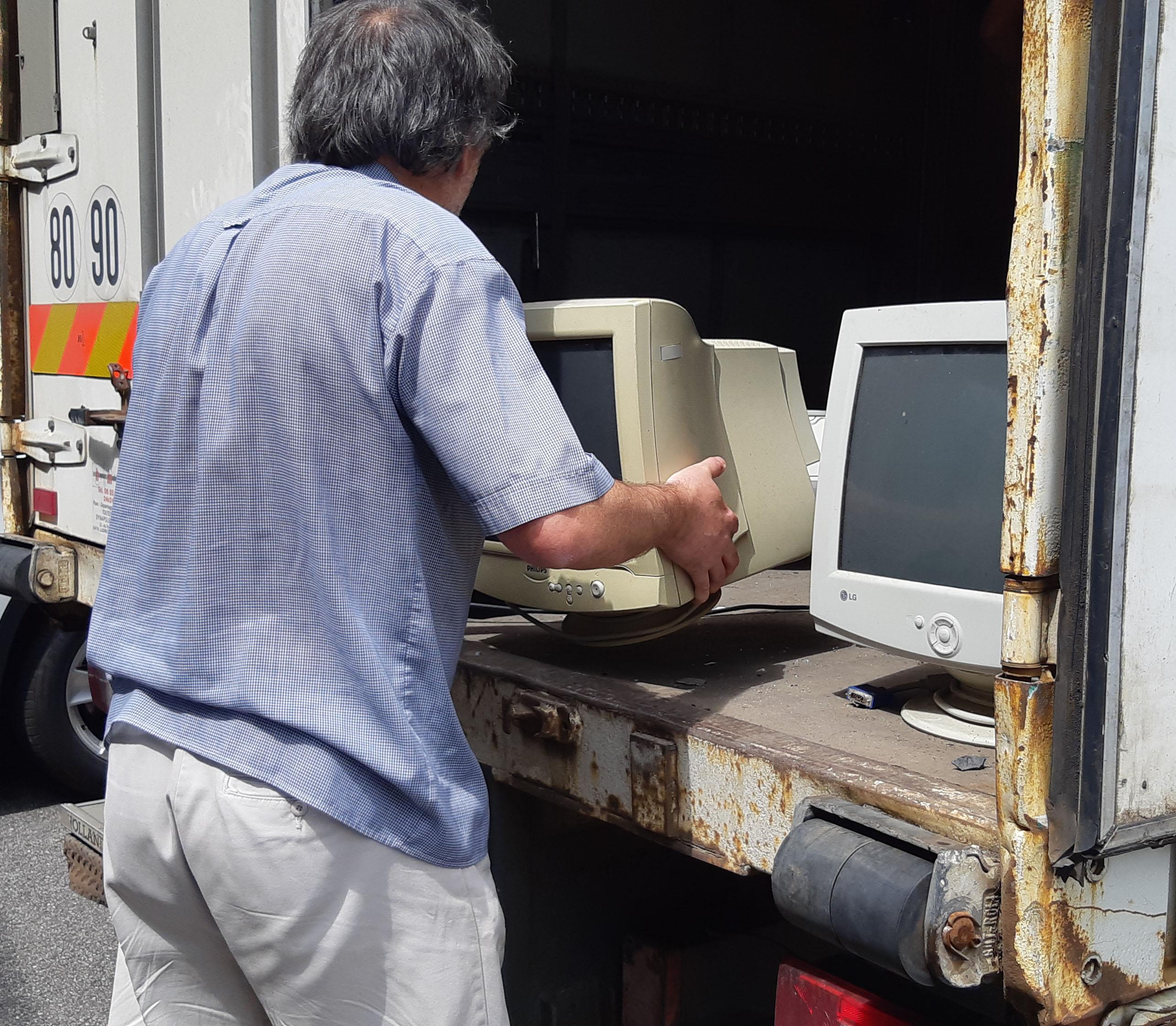 Recyclage du matriel informatique
