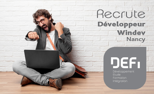 Recrutement Développeur Windev (H/F)